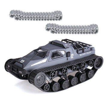 81.99for SG 1203 1/12 2.4G Drift RC Tank Car High Speed Full Proportional Control Vehicle Models With Metal Plastic Track