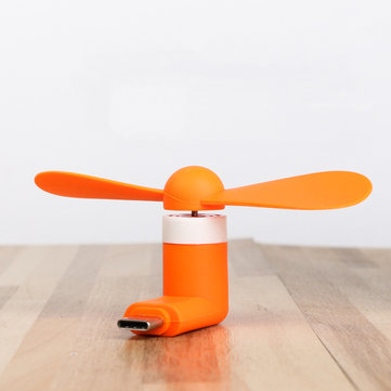 Bakeey Type C Phones Mini Charging Portable Small Fan For Huawei P30 Pro Mate 30 Xiaomi Mi9 9Pro S10+ Note10