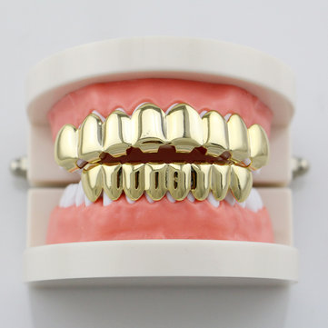 How can I buy  4 Colors Metal Glossy Braces Plating  Black Braces Hip Hop Rose Gold Grillz Teeth Jewelry with Bitcoin