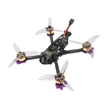 $194.65 for Eachine LAL5.1 225mm 4K 5.1 Inch 4S FPV Racing Drone PNP F405 Bluetooth FC Caddx Tarsier V2 Cam 2507 2600KV 50A Blheli_32 5.8Ghz 25-800mW VTX