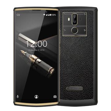 Oukitel K7 Pro 6,0 tommers 10000mAh 9V 2A hurtiglading Android 9.0 4 GB RAM 64GB rom MTK676 Octa Core 4G smart~~POS=TRUNC