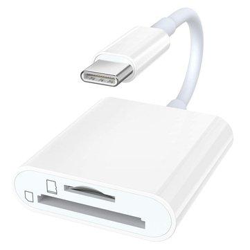 Bakeey USB 3.1 Type-C a adaptador de lector de tarjeta de memoria SD TF OTG para Macbook Tablet Laptop S10 + Note10