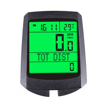 Inbike 326 Wireless Bike Computer Luminous Waterproof Riding Speedometer Bicycle Smart Stopwatch