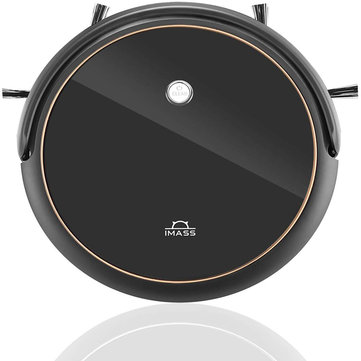 IMASS A3 Robot Vacuum Cleaner with Smart Path Planning 1400pa Suction Ultra-Thin Body for Pet Hair Care Hard Floors and Low Pile Carpet