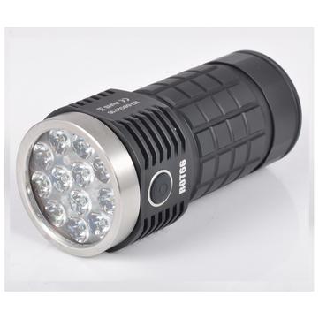 Fireflies ROT66 Generation II SST20/ Nichia/ XPL HI/ Osram 7000~10000Lumens + 45 degree TIR lens EDC LED Flashlight