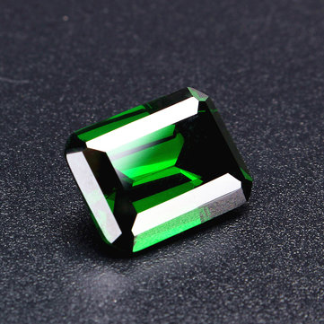 30ct Sapphire Mined Green Loose Beads Gemstone Emerald Colombia Emerald Cut DIY Jewelry