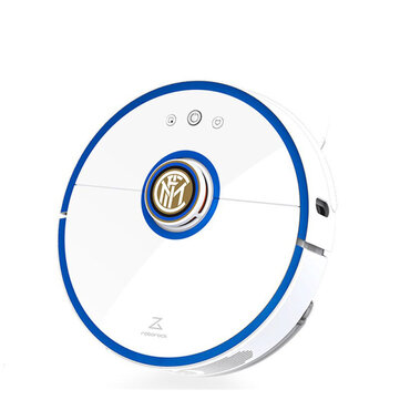 Roborock S52 Robot Vacuum Cleaner 2-in-1 Sweeping and Mop LDS and SLAM Smart Planned 2000Pa Suction 5200mAh Custom Edition with Football Star Voice