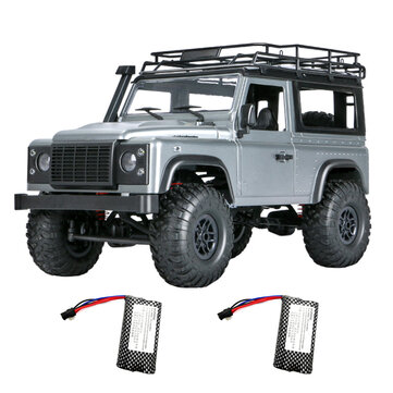 MN 99s 2.4G 1/12 4WD RTR Crawler RC Car Off-Road For Land Rover Vehicle Models With Two Battery
