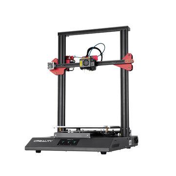 Creality 3D® CR-10S Pro V2 Firmware Yükseltme DIY 3D Yazıcı Kit 300 * 300 * 400 Otomatik Tesviye / Çift Dişli Ekstrüzyon / Devam ile Baskı Boyutu / Colorful Dokunmatik Ekran