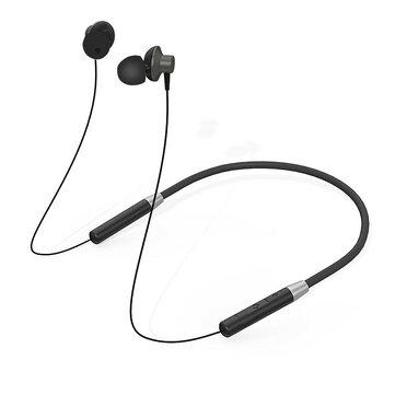 Lenovo bluetooth magnetisk halsbånd hovedtelefoner IPX5 vandtæt trådløs sport øretelefon støjdæmpende headset med mikrofon