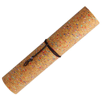 Natural Cork Yoga Mats Fitness Gym Sports TPE Yoga Mat Including Receipt Package