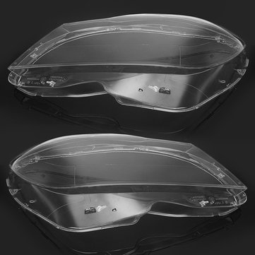 Buy Pair Clear Headlight Lens Cover 4769886123 for Mercedes-Benz C-Class W204 Sedan Coupe 2011-2014 with Litecoins with Free Shipping on Gipsybee.com