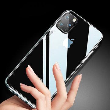 Baseus AirBag a prueba de golpes transparente como el cristal transparente Soft TPU protector Caso para iPhone 11 6.1 pulgadas