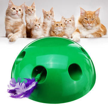 New Interactive Motion Cat Toy Mouse Tease Electronic Fun Pet LOT Training Toys
