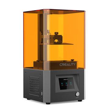 Impresora 3D de resina Creality 3D® LD-002R LCD con 119 * 65 * 160 mm Tamaño de impresión / Ultra HD 2K LCD Pantalla / Riel lineal tipo bola