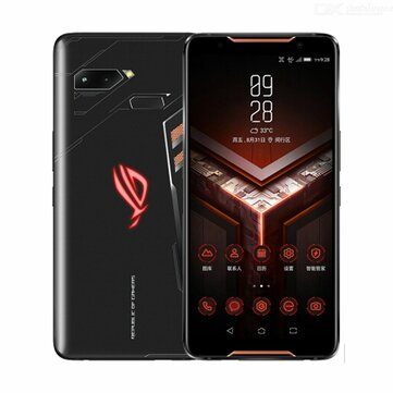 ASUS ROG Phone ZS600KL 6.0 Inch FHD+ IP68 Waterproof NFC 4000mAh 12MP + 8MP Dual Rear Camera 8GB RAM 128GB ROM Snapdragon 845 Octa Core 2.96GHz 4G Gaming Smartphone