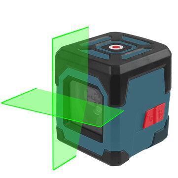 HANMATEK LV1G Laser Level Green Cross Line Laser with Measuring Range 50ft, Self_Leveling Vertical and Horizontal Line