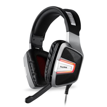 EASYSMX ESM-G291 Omnidirectional Vibration Stereo Gaming Headphone with Microphone for...