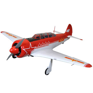 Taft Hobby Yak 11 EPO 1450mm Wingspan Trainer RC Airplane Plane War Aircraft KIT or PNP