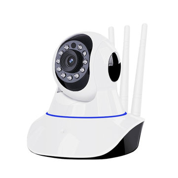 Bakeey Wireless Wifi HD Infrared Night Vision Security Webcam Surveillance Baby Pet Home Voice Intercom IP Camera For Smart Home