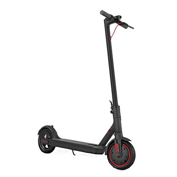2019 Original Xiaomi Electric Scooter Pro 300W Motor 3 Speed Modes 25km/h Max. Speed 45km Mileage Range 12.8Ah Battery Double Brake System Multi-function Control Panel Black