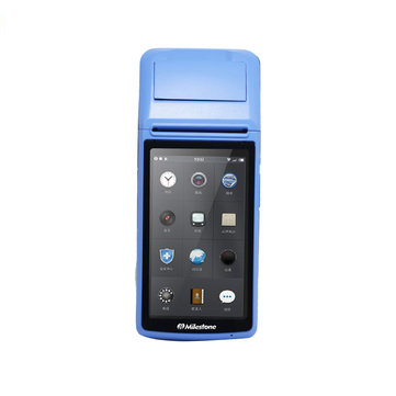 Milestone MHT-M1 POS Thermal Receipt Label Printer Touch Screen bluetooth WIFI GPRS Printing Machine USB SIM for Android
