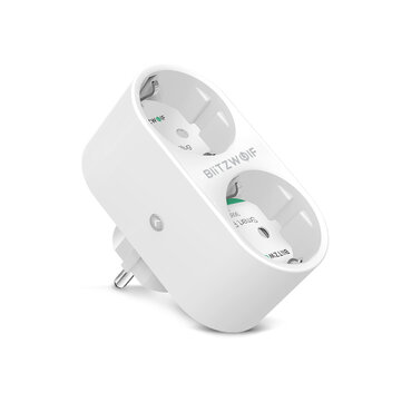 $14.99 for BlitzWolf� BW-SHP7 16A 2 IN 1 Smart Socket
