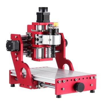 Đỏ 1419 3 trục Mini DIY Bộ định tuyến CNC Tiêu chuẩn Trục chính Động cơ Khắc gỗ Khắc Máy phay Khắc Khắc chế biến gỗ