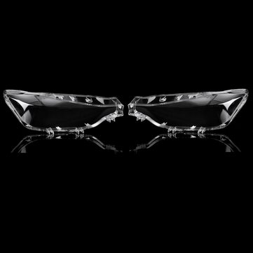 Car Front Left/Right Headlight Headlamp Lens Light Cover For BMW 3 Series F30 F35 2016-2018