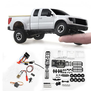 $79.76 for Orlandoo OH35P01 F150 1/35 EP Scale Climbing RC Crawler Car Parts DIY Assemble KIT Motor ESC Servo