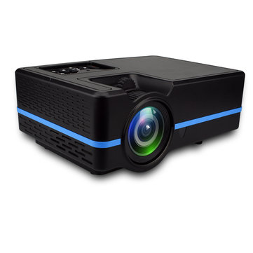 Visiontek VS-313 LCD Projector Mini LED Projector 2200 lumens 800*480dpi Full HD Portable Home Theater Cinema Support 4K Android