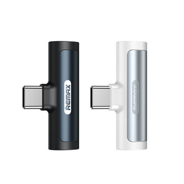 Remax 3.5mm Audio Jack Type-C Fast Charging Adapter For Huawei P30 Pro Xiaomi Mi9 S10 + Note10