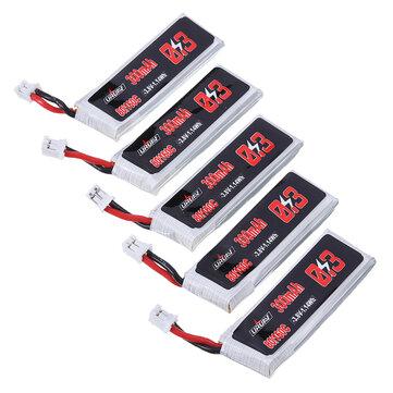 $13.59 for 5Pcs URUAV 3.8V 300mAh Lipo Battery