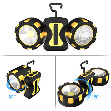 $10.99 for Xmund XD-SL11 500 Lumens 10W COB LED Camping Light Double Head