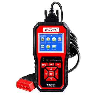 KONNWEI KW850 OBD2 Scanner EOBD Car Scan Diagnostic Tool Engine Fault Code Reader Multi-languages