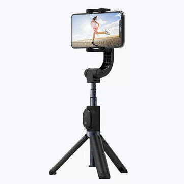 Yuemi One-Axis Gimbal Stabilizer bluetooth Remote Control Selfie Stick Extendable Tripod Monopod From Xiaomi Ecosystem