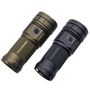 Haikelite HK04 4 x XPLHI 5000LM Anduril UI Super Bright Flashlight