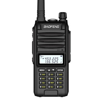 BAOFENG UVF10 8W Large Power IP67 Waterproof Handheld Radio Walkie Talkie 400-520MHz 128 Channels Hotel Civilian Intercom