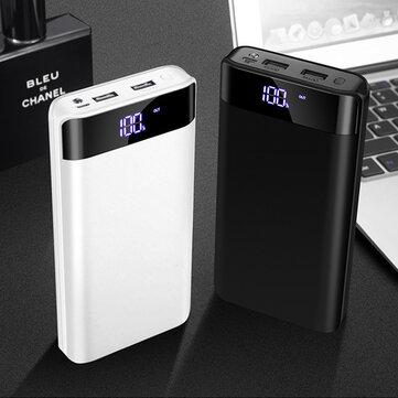 Bakeey 20000mAh Doppia capacità USB LED Dispaly Cassa di ricarica rapida per iPhone X XS Oneplus 6P 7 7Pro Xiaomi Mi9 9Pro S10 + Nota 10