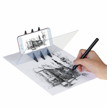 Drawing Painting Sketch Optical Mirror Reflection Projection Tracing Plate Board Sale Banggood Com