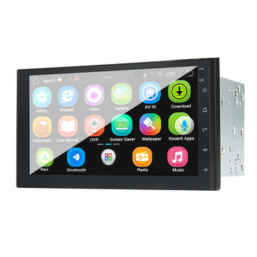 iMars 7 Inch 2 Din for Android 8.0 Car MP5 Player 2.5D Touch Screen Stereo Radio GPS WIFI bluetooth FM Support Rear Camera
