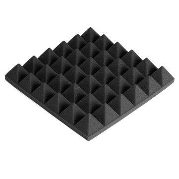 $24.99 for 24PCS 300x300x50mm Soundproofing Foam Studio Acoustic Foam Soundproof Absorption Treatment Panel Tile Polyurethane Foam