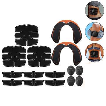 KALAOD 15Pcs/Set Hip Trainer Abdominal Arm Muscle Training Body Shape Sports Smart Fitness ABS