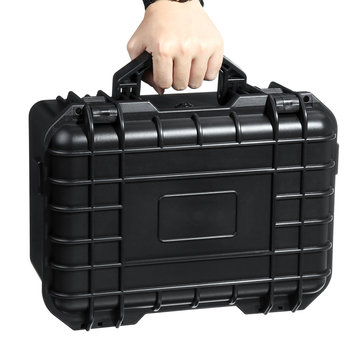 ABS Aluminum Alloy Tool Box Instrument Storage Case Outdoor Tactical Safety Box
