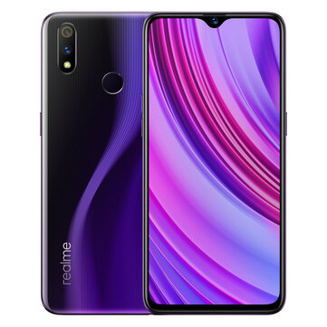OPPO Realme 3 Pro Global Version 6.3 Inch FHD+ Android 9.0 4045mAh 25MP AI Front Camera 4GB RAM 64GB ROM Snapdragon 710 Octa Core 2.2Ghz 4G Smartphone