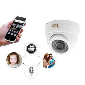 JIENUO JN-IP517AR-D Wifi Camera 1080P CCTV Surveillance Video Security Wireless Audio IPCam Indoor Cam Infrared Dome Home IP Camera