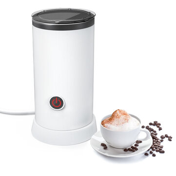 20% OFF for Digoo DG-HS005 Electric Milk Frother Machine Warmer 550W Automatic Milk Heating 240ml Stainless Steel Inner Foam Maker