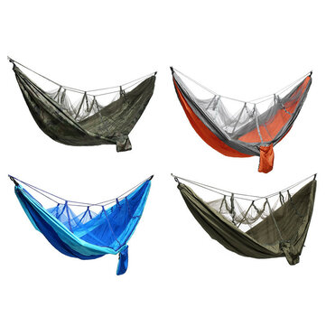 Camping Mosquito Nets Hammocks,Ultralight Camping Hammock Beach Swing Bed Hammock for the Outdoors Backpacking Survival or Travel