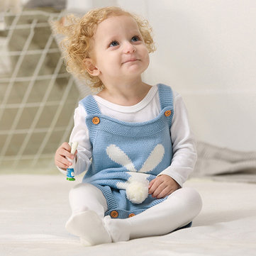 How can I buy Kids Baby Rabbit Easter Knitted Jumpsuit  with Bitcoin