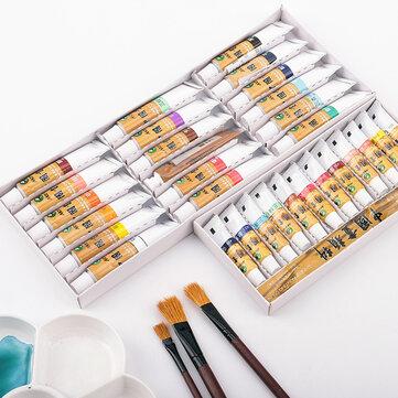 मैरीज़ चाइनीज़ पेंटिंग पिगमेंट 18/24/36 कलर्स वाटर कलर पेंट सेट आर्ट पेंटिंग ड्रॉइंग पिगमेंट प्रोफे